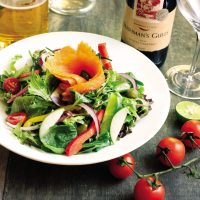 smoked-salmin-salad-starter
